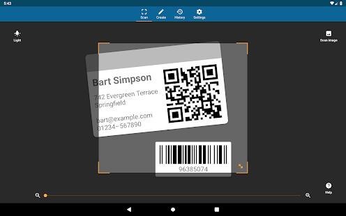 QRbot: Ảnh chụp màn hình của máy quét mã vạch & QR