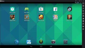 Xem trước Trình giả lập MEMU-Android