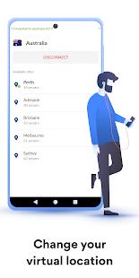 Ứng dụng VPN nhanh NordVPN để bảo mật và bảo mật Ảnh chụp màn hình