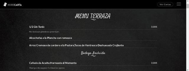Quên các menu vật lý và tạo một menu kỹ thuật số với dịch vụ HoreCarta 1