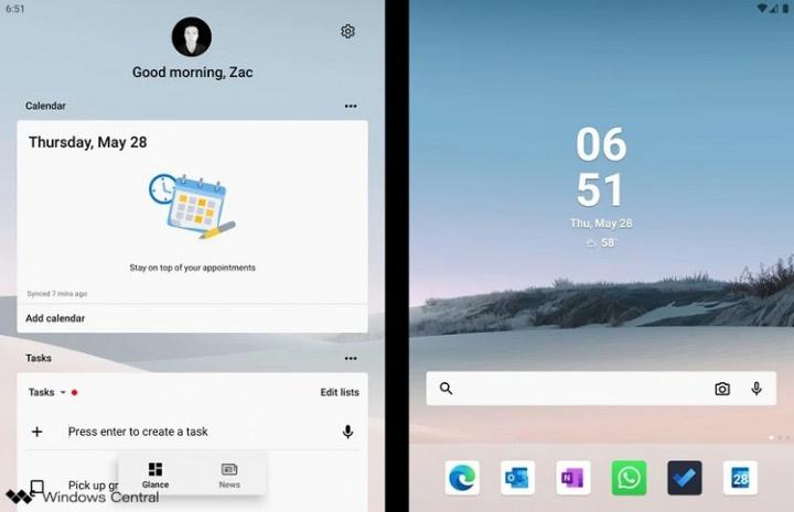 Xem những gì ứng dụng Microsoft Android có thể làm trên Surface Duo 2