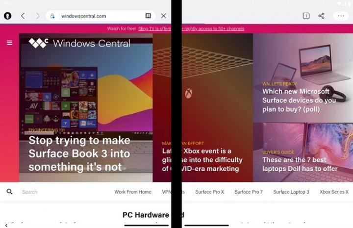 Xem những gì ứng dụng Microsoft Android có thể làm trên Surface Duo 3