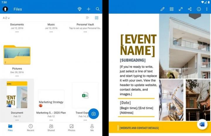 Xem những gì ứng dụng Microsoft Android có thể làm trên Surface Duo 8