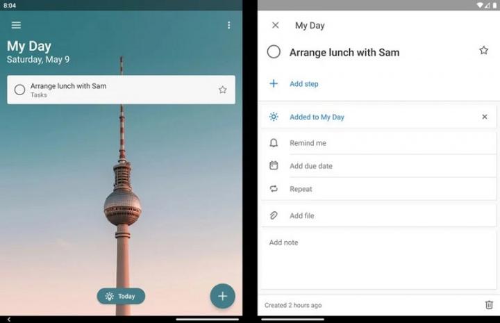 Xem những gì ứng dụng Microsoft Android có thể làm trên Surface Duo 7
