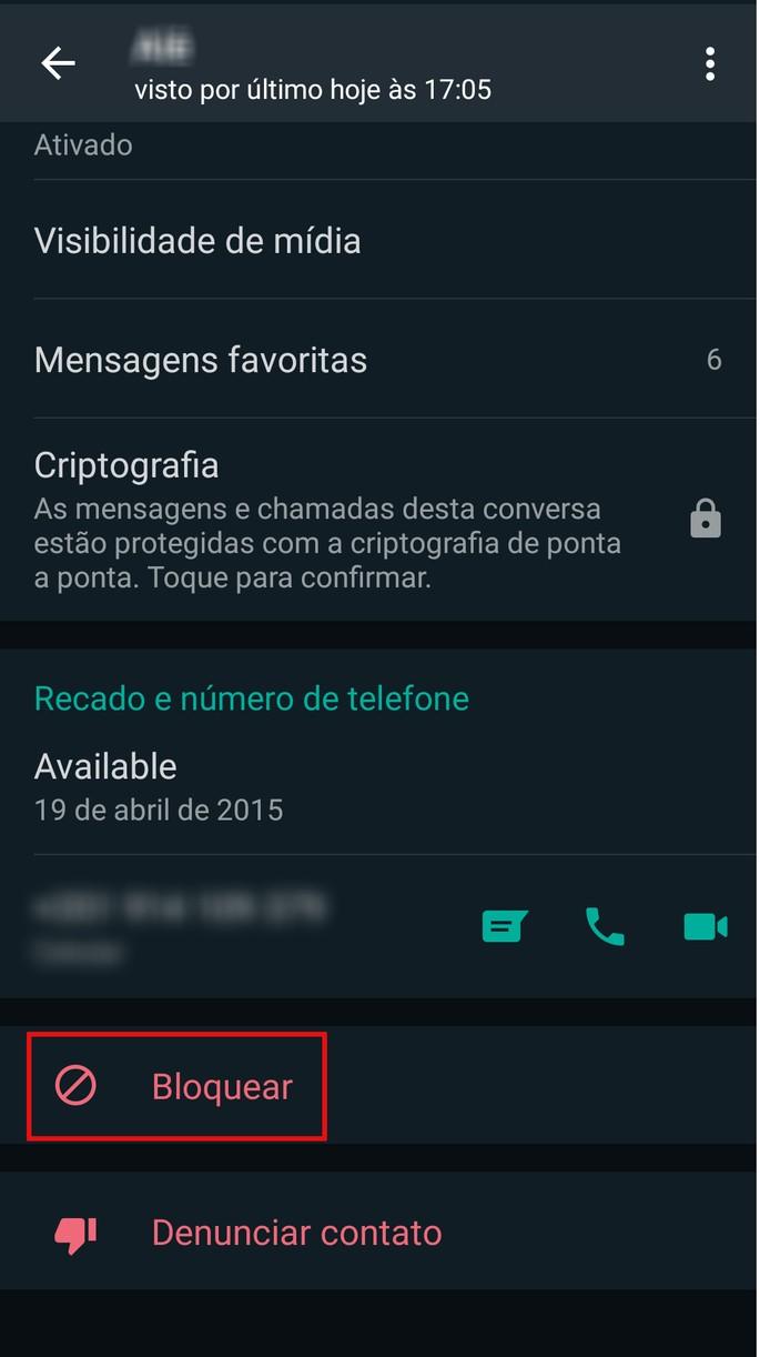 Danh sách tải lên WhatsApp