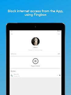 Finger - Ảnh chụp màn hình công cụ mạng
