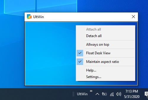UtlWin giúp bạn dễ dàng chuyển đổi giữa nhiều tác vụ trên Windows máy vi tính 1
