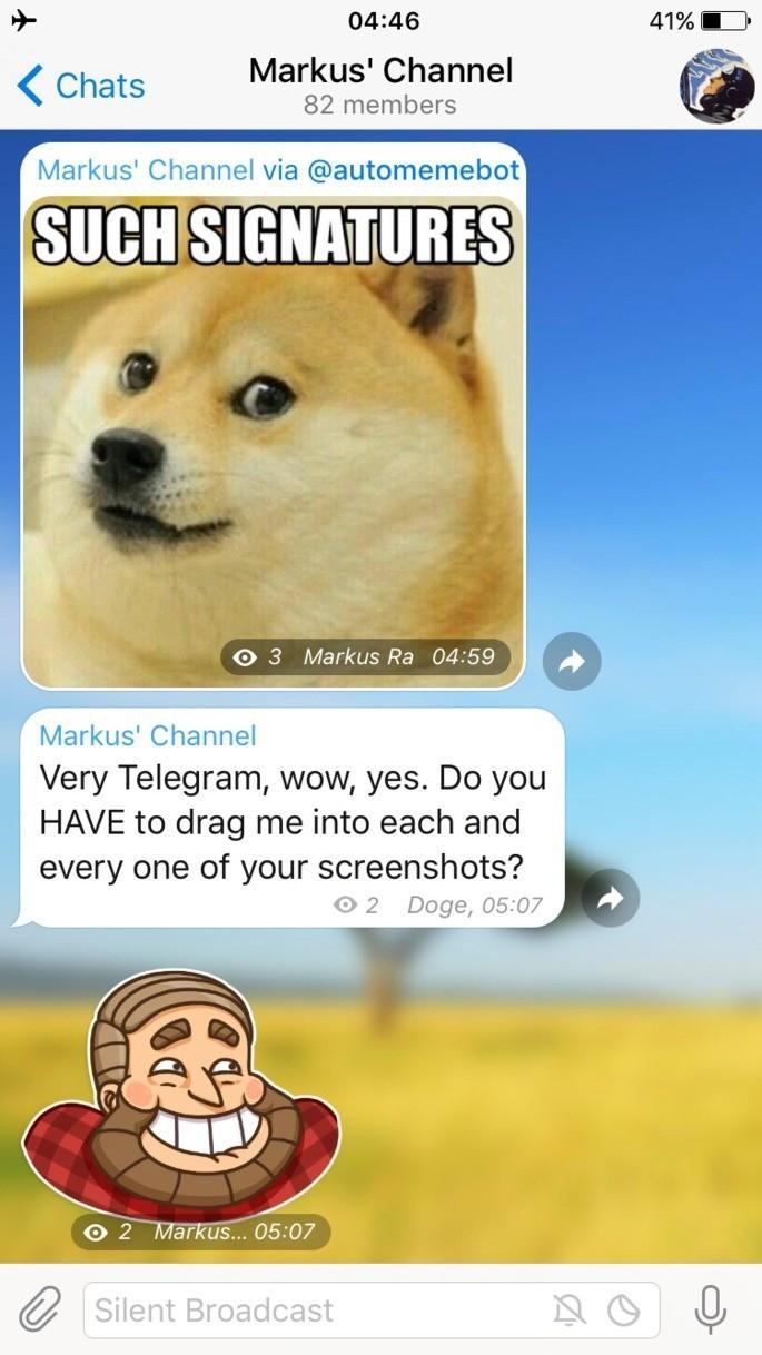 Ứng dụng trò chuyện Telegram