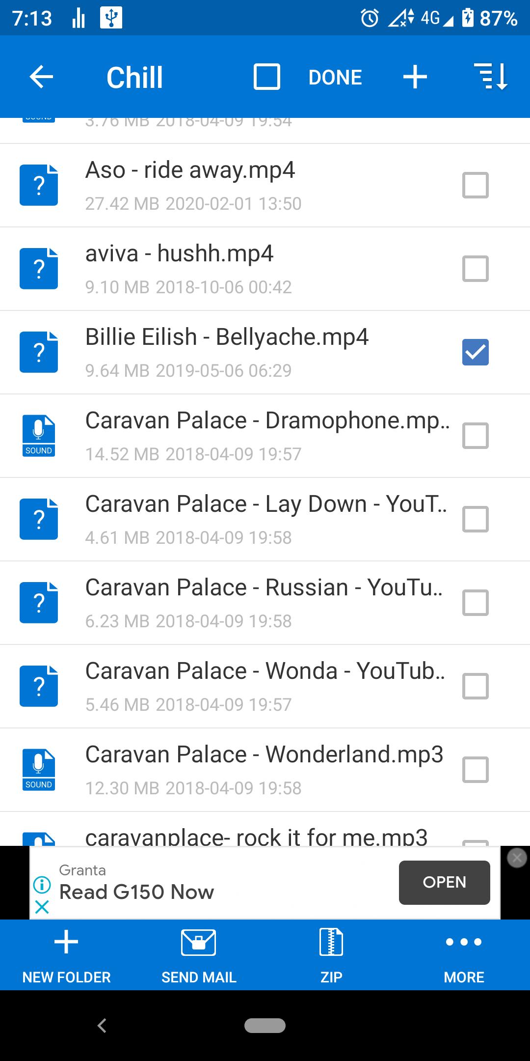 Cách nén tệp trong Android 6