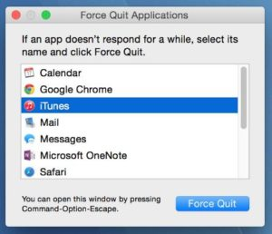 Buộc thoát khỏi hệ điều hành Window-on-Mac