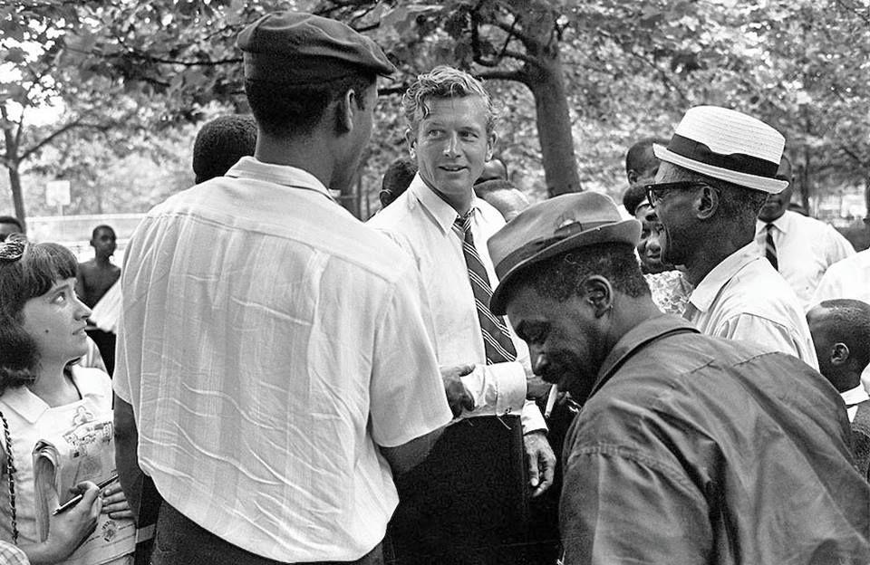John Lindsay, thị trưởng New York, người đã dừng các cuộc biểu tình ở Harlem vì vụ giết Martin Luther King 2
