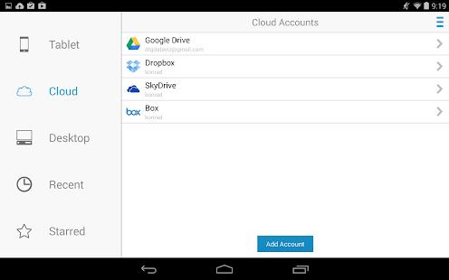 Snímka obrazovky Docs To Go Free Office Suite