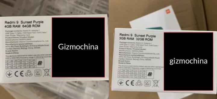 Xiaomi Redmi 9 - Giá cả, màu sắc và thông số kỹ thuật đã được biết đến