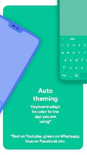 Bàn phím Chrome - Chủ đề bàn phím RGB & Emoji Ảnh chụp màn hình