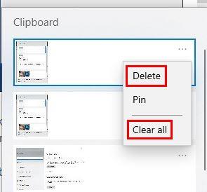 Làm thế nào để xóa Windows 10 lịch sử clipboard 3