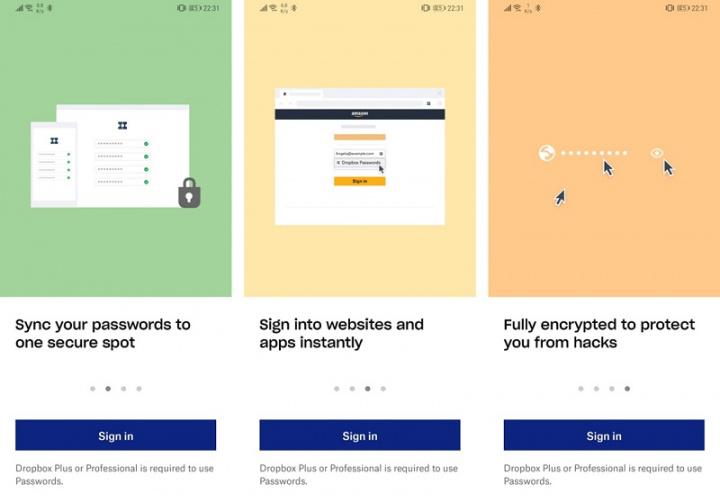 Ứng dụng quản lý mật khẩu Dropbox hiện có sẵn cho Android 3
