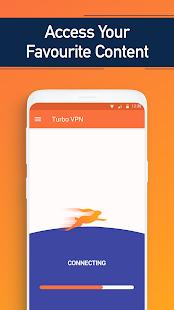 Turbo VPN - Máy chủ proxy VPN miễn phí và ảnh chụp màn hình dịch vụ an toàn