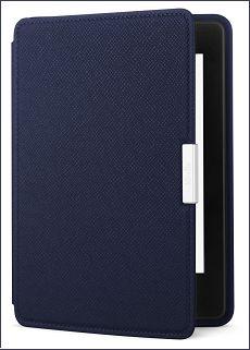 Amazon Kindle  Pappersvit läderfodral