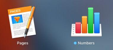 Stránky a čísla Aplikácie v počítačoch Mac