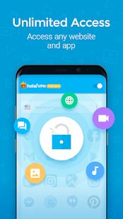 Snímka obrazovky Hola VPN Proxy Plus
