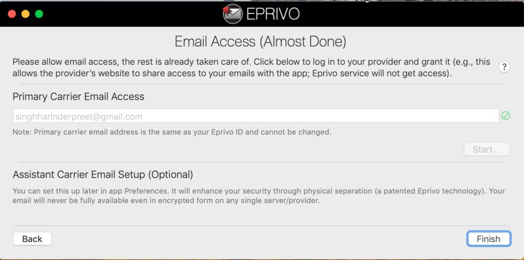 EPRIVO Review - Zabezpečte svoju aktuálnu e-mailovú adresu ľahko 3