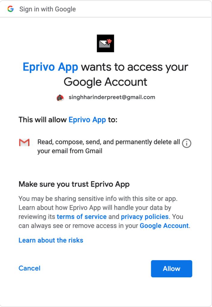 EPRIVO Review - Zabezpečte svoju aktuálnu e-mailovú adresu ľahko 2