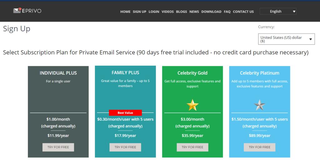 EPRIVO Review - Zabezpečte svoju aktuálnu e-mailovú adresu ľahko 8