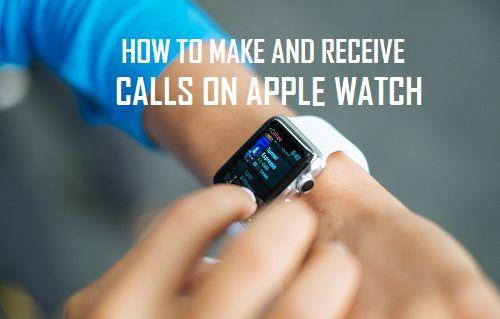 Ako uskutočňovať a prijímať hovory Apple Watch