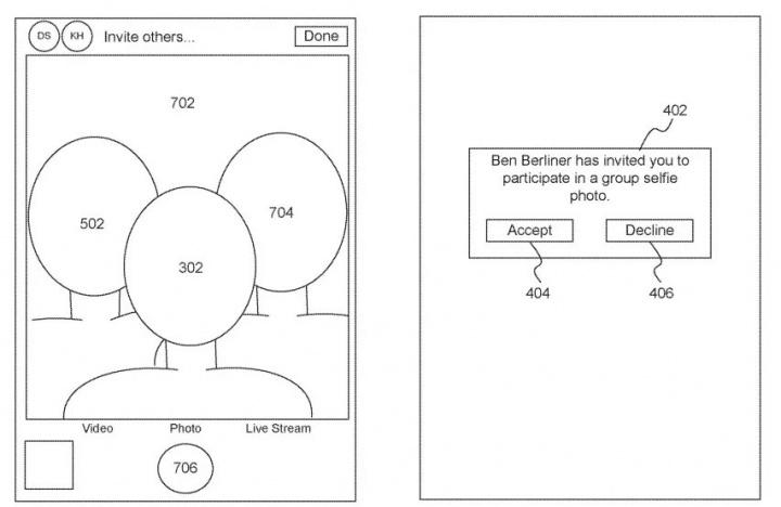 Obrázkové patenty Apple pre vzdialené selfies