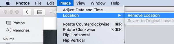 Odstráňte možnosti umiestnenia v počítačoch Mac