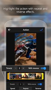 ActionDirector Video Editor - Redigera videor Snabb skärmbild