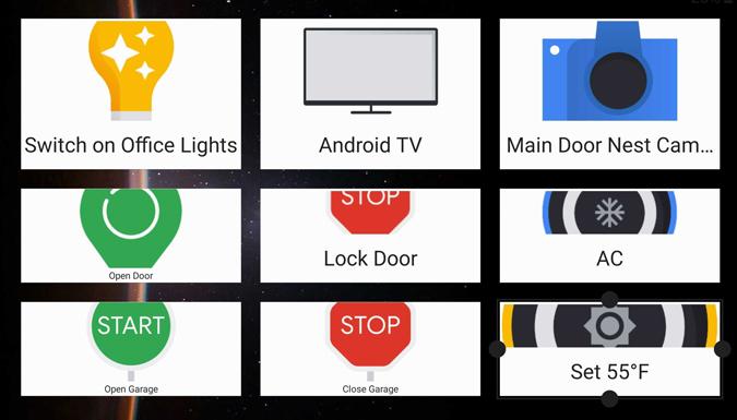Premeňte svoj telefón na domáci ovládací panel alebo na diaľkové ovládanie 6