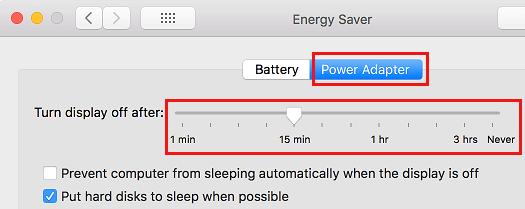 Zmeňte časovač spánku pri pripojení k počítaču Mac