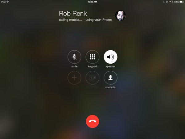 Hur ringer jag och tar emot telefonsamtal från iPad? 2