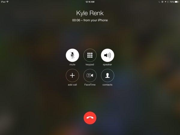 Hur ringer jag och tar emot telefonsamtal från iPad? 1