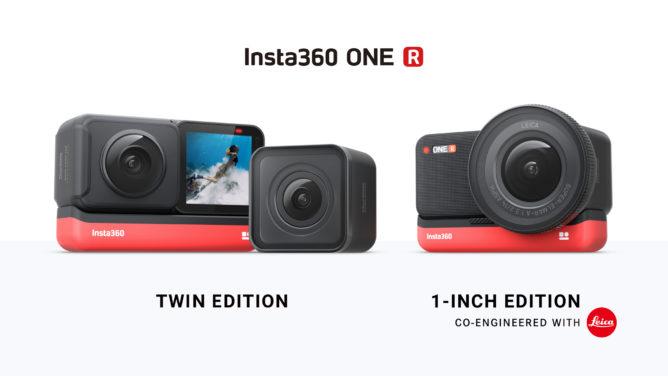 Insta360 One R är en modulär 360 och actionkam med IPX8-vattentätning, USB-C och en 1-inch Leica sensor 23