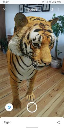 Teraz môžete zaznamenávať 3D zvieratá a objekty Google 2