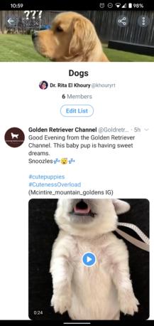 Teraz môžete prispôsobiť Twitter zoznamy v systéme Android, skryte ich obsah z hlavnej časovej osi (stiahnutie súboru APK) 5