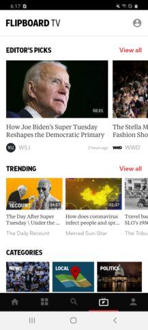Flipboard sa rozširuje na video s novým Flipboard TV, a Galaxy Okrem času S20 (aktualizácia: spustenie) 2
