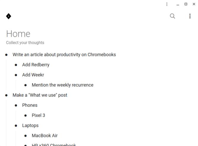 Desať vynikajúcich webových aplikácií pre produktivitu pre Chromebook a telefón s Androidom 7