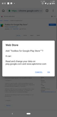 Prehliadač Kiwi pridáva podporu pre rozšírenia Chrome pre počítače pre Android [APK Download] 1