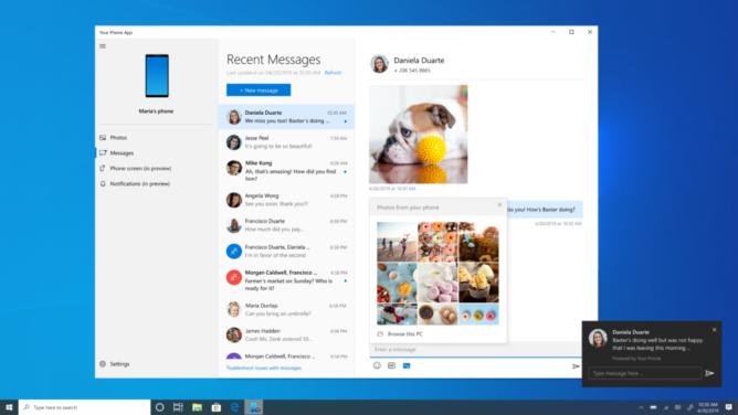 Aplikácia spoločnosti Microsoft pre váš telefón testuje nové funkcie na zjednodušenie ovládania, súbory GIF a emoji v správach 2
