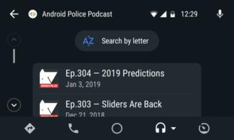 Google spúšťa podporu Android Auto pre podcasty 3