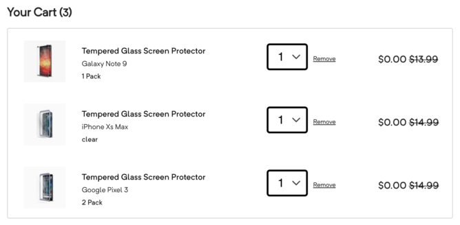 [Update: Dead] Chyba ceny: Pixel 3 a Pixel 3 Chrániče obrazovky Glass Case XL sú teraz zadarmo 2
