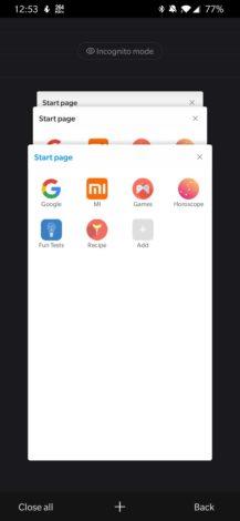 Nový prehliadač mincovne spoločnosti Xiaomi chce obnoviť vaše prehliadanie 2