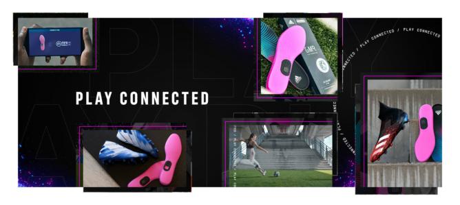 Adidas GMR je značka Google Jacquard 40 dolárov s viazaním stávky FIFA 1