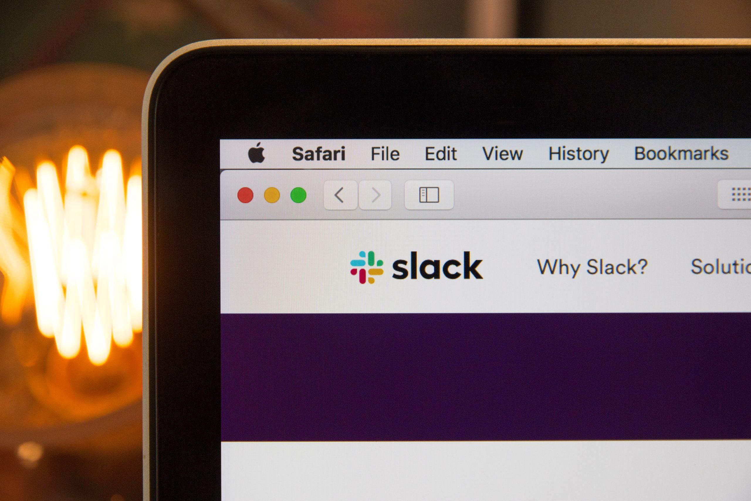 Kết nối tài khoản Slack và Dropbox 1