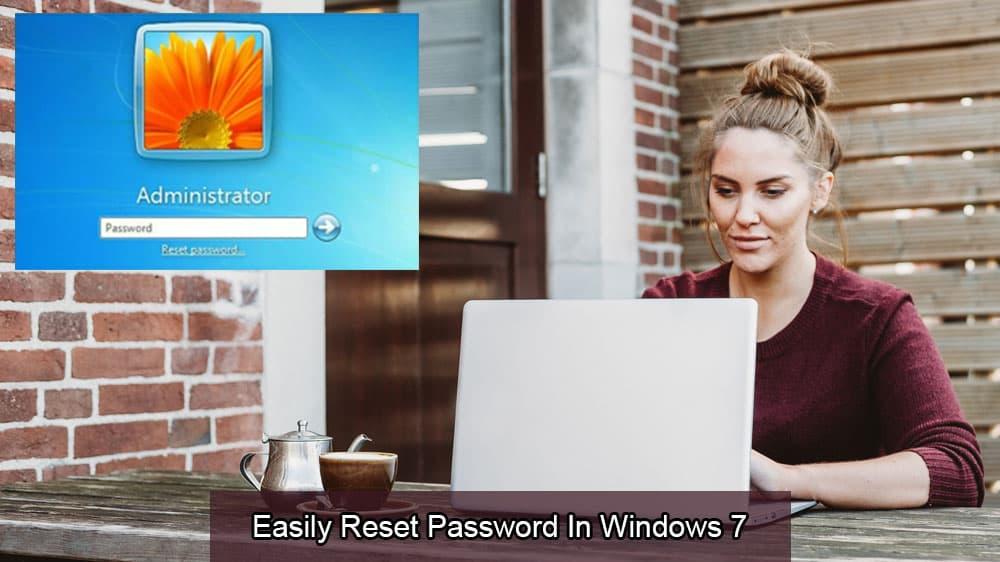 Ľahko obnovte heslo Windows 7 1