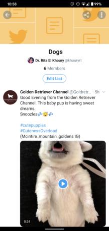 Teraz môžete prispôsobiť Twitter zoznamy v systéme Android, skryte ich obsah z hlavnej časovej osi (stiahnutie súboru APK) 1