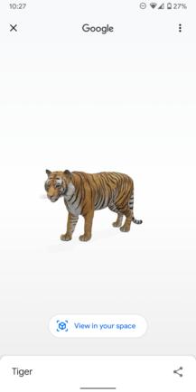 Teraz môžete zaznamenávať 3D zvieratá a objekty Google 1